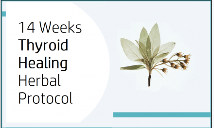 14 Weeks Thyroid Healing Herbal Protocol