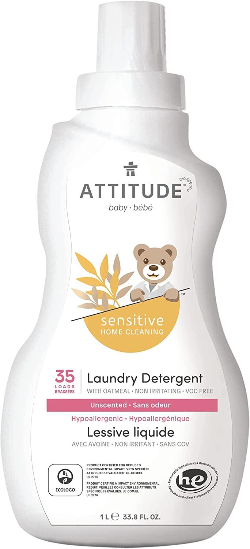 ATTITUDE Baby Laundry Detergent